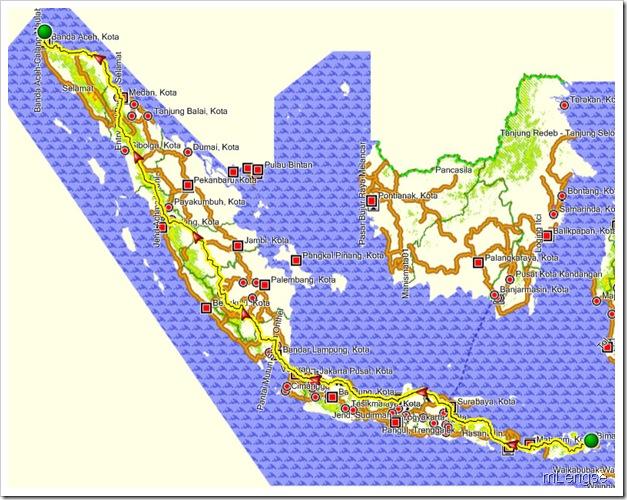Bima(Matarm)-Sabang(Aceh)